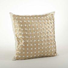 Amalia Circle Cutwork Throw Pillow