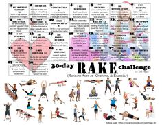 30-Day R.A.K.E. Challenge (Random Acts of Kindness, and Exercise) ....starting December 1st, 2014     Join us at my facebook profile: www.facebook.com/jodi.higgs.56