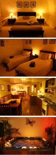 Underground B & B Accommodation Coober Pedy