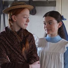 Date someone who look at you the way Diana look at Anne Anne Shirley, Series Movies, Movies And Tv Shows, Anne And Gilbert, Diana Barry, Anne Of Avonlea, Carlo Rivera, Anne White, Gilbert Blythe