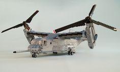 MV-22B Osprey #flickr #LEGO #MOC #plane