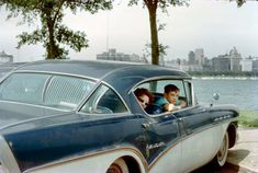 1950s united states vintage photos Buick Roadmaster Limited 75, 1957