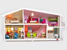 Smaland Dollhouse: Kiddos will love this funky Swedish-designed doll house. #toys #GoldStarToys