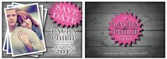 Save The Date cards by Empireinvites.ca - winnipeg manitoba canada