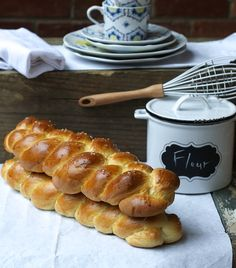 Finnish Pulla  My mom makes this ALL the time and she has people lining up for it! LOVE this stuff <3