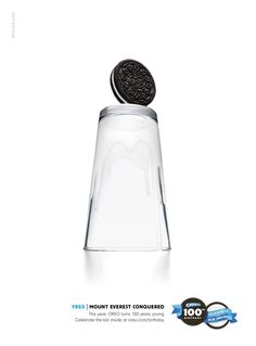 Oreo 100th Anniversary: Mount Everest Conquered