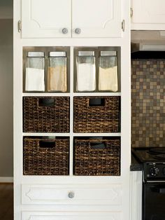 Use Clear Containers for Bulk Storage