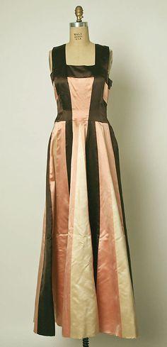 House of Balenciaga 1939 Evening dress