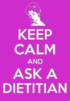 ask a dietitian!