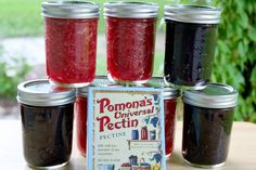 Making your own jam or jelly is not difficult at all. All that's needed are canning jars, pectin, lemon juice, fruit and a sweetener.