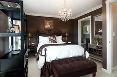 Big fan of this bedroom..not too Girly or manly