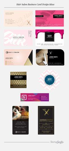 Hair Salon Business Card Ideas