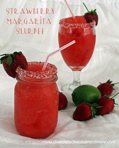 Strawberry Margarita Slurpees