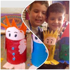 #kids #crafts #recycable