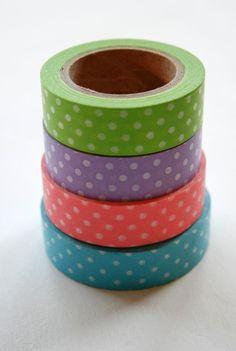 Washi Tape Set - i really want!