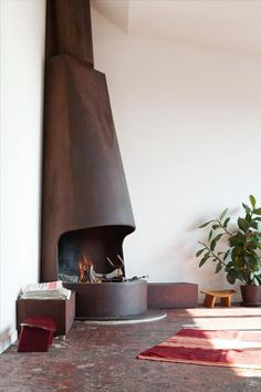 love the big fire place