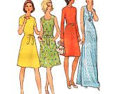 McCall's Sewing Pattern 3184 Half Size Basic Dress