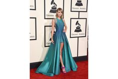 Grammy Awards 2015 Taylor Swift in Elie Saab