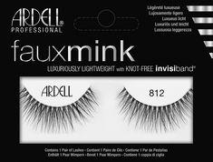 18ef94f3cd5 Shop Ardell Faux Mink 812 at LadyMoss.com Beauty Shop, Black Lashes, False