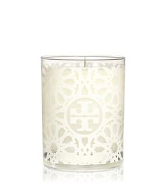 FRAGRANCE COLLECTION WHITE TILE-PRINT CANDLE