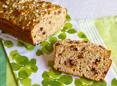 oat quick bread w/chocolate chips