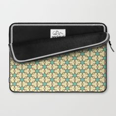 Retrostar #1 (By Salomon) #laptop #case #design #fashion #sleeve #estuche #funda #skin #vintage #moda #streetstyle #style #pattern #mosaic #mosaico #stars #universe #retro #society6 @society6
