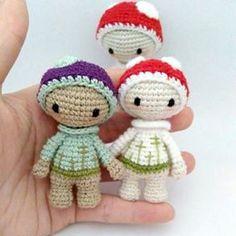 lalylala » Minis and Mods multiple free Lalylala patterns. Amigurumi crochet.