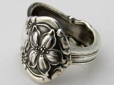 Orange Blossom Spoon ring.  Need now!