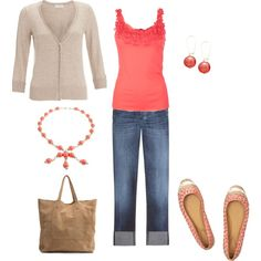 Spring Casual, created by wcatterton on Polyvore