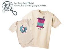 Dúo de padre hijo camisetas mejor amigo camiseta por HochetGaga