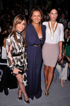 Paula Abdul, singer Vanessa Williams and Daisy Fuentes attend the Carlos Miele Spring 2013 fashion show during Mercedes-Benz Fashion Week at The Stage at Lincoln Center (Sept. 9, 2012 - Source: Stephen Lovekin/Getty Images North America)