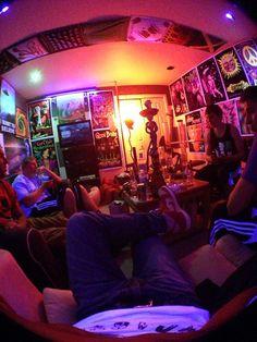 Trippy hippie bedroom