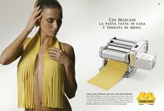 Pasta all'uomo... sigh Advertising, Pasta, Women, Women's, Noodles