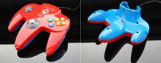 Custom Super Mario 64 controller by Zoki64