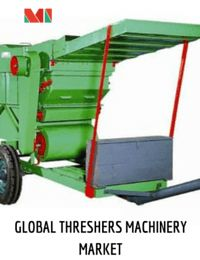 Threshers are farm machinery that is used for the separation of grain from stalks and husks. Given the huge domestic market for grain cultivation and export, the mechanization of the farms is the inevitable step in the Indian agriculture.