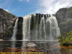 Bicame waterfall ,Lapinha da Serra ,Minas Gerais ,Brazil - Cruze