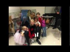 Although she does not appear in any of the class photos, the media claims that 6-year-old Emilie Parker on the right was shot in the Sandy Hook massacre. Here she is shown with her parents along with her 3 and 4-year-old sisters. But the story that she was killed at Sandy Hook is not possible because here she is sitting on the president's lap af...