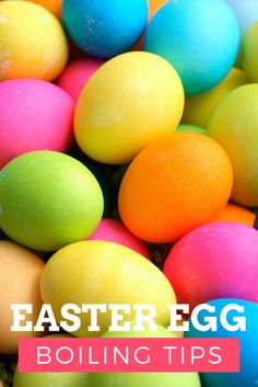 Easy Easter Egg Boil