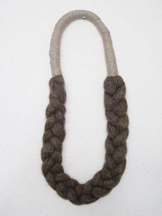 Elsinore Smidth-Carabetta                           Wool Braid Necklace
