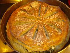 χορτόπιτα .... @pezoula_paros Pie, Desserts, Food, Pinkie Pie, Tailgate Desserts, Deserts, Fruit Flan, Essen, Pies