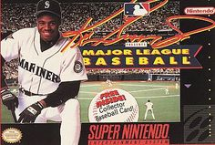 Ken Griffey Jr. Presents Major League Baseball Super Nintendo SNES