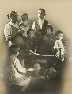 Jozef and Wiktoria Ulma, a Polish husband and wife, living in Markowa during the Nazi German occupation in World War II, were the Righteous who attempted to rescue Polish Jewish families by hiding them in their own home during the Holocaust. They and their six children (Wiktoria was also 9 month pregnant at the time) were summarily executed for doing so, along with the Jews they were hiding. Jozef was skilled photographer, he left many photographs of his family, some of them survived the war...