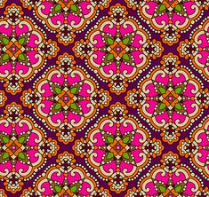 Ikat Pattern, Abstract Pattern, Pattern Design, Textile Prints, Textile Design, Border Embroidery Designs, Vintage Borders, Painting Patterns, Textures Patterns