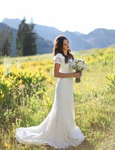 that dress! Modern Trousseau 'cassidy' gown available at Alta Moda Bridal in SLC. Tessa Barton Photography