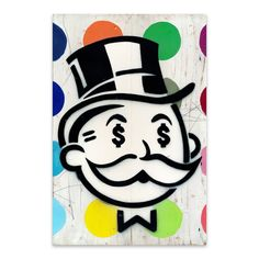 Shop for Noir Gallery Funny Monopoly Money Humor Metal Wall Art Print. Get free delivery On EVERYTHING* Overstock - Your Online Art Gallery Shop! Small Canvas Art, Mini Canvas Art, Canvas Wall Art, Wall Art Prints, Canvas Paintings, Money Humor, Monopoly Money, Felix The Cats, Drawing Challenge