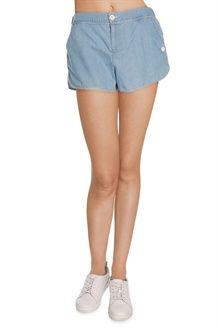 Shorts<BR> Blu Chiaro