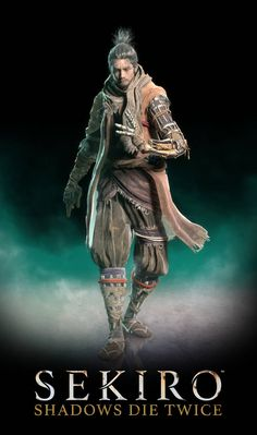 sekiro from sekiro shadows die twice FromSoftware, Inc. - model rigged - formats of model: xnalara . sekiro shadows die twice: sekiro Armor Concept, Concept Art, Totoro, Gaming Posters, Ninja Art, Mileena, My Fantasy World, All Souls, Anime Poses