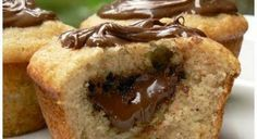 Recette - Muffin au Nutella  - Notée 5/5 par les internautes