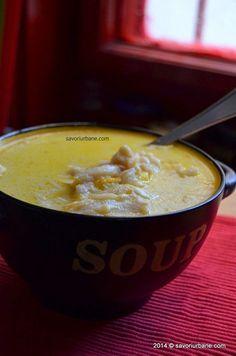 Ciorba de burta Savori Urbane (17) Soup Recipes, Cooking Recipes, Good Food, Yummy Food, Romanian Food, Cream Soup, Pastry Cake, Recipes From Heaven, Food Design