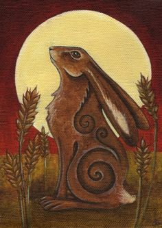 Hare Moon ~ Esther Remmington